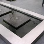 RVS waterelement vijver rivius tuinontwerp modern