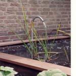 modern water in de tuin vijver rivius tuinontwerp
