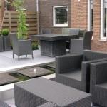 moderne tuin ontwerp rivius RVS vijver