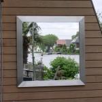 spiegel rvs moderne tuin rivius tuinontwerp