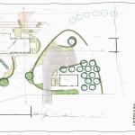Schetsontwerp landelijke vormgeving 1200 m2