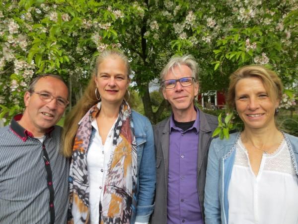 groepsfoto Plantarium tuinenproject 2017